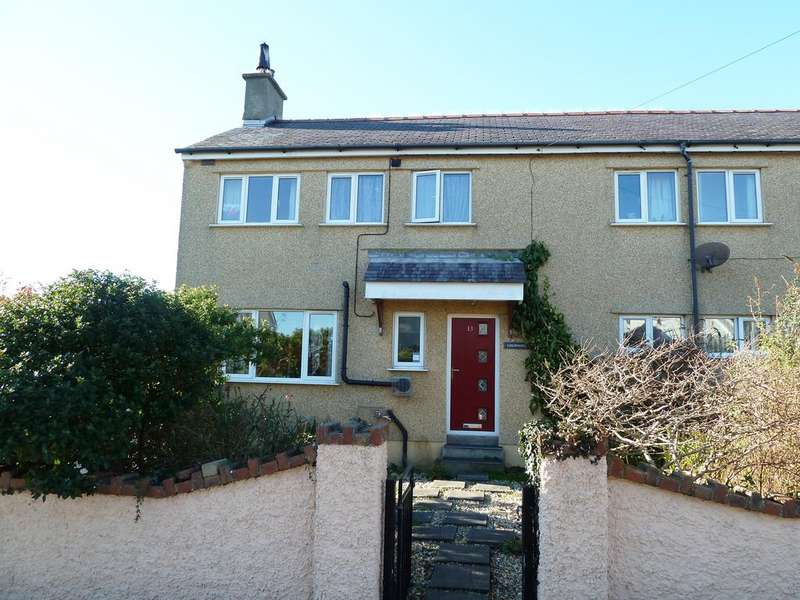 3 Bedrooms End Of Terrace House for sale in Ffordd Seiriol, Moelfre LL72