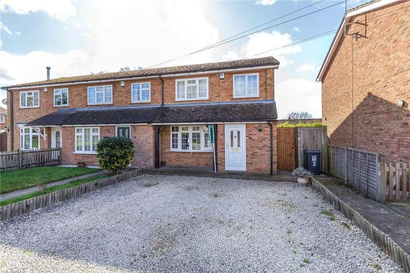 4 Bedrooms End Of Terrace House for sale in Vicarage Gardens, Flamstead, St. Albans, Hertfordshire