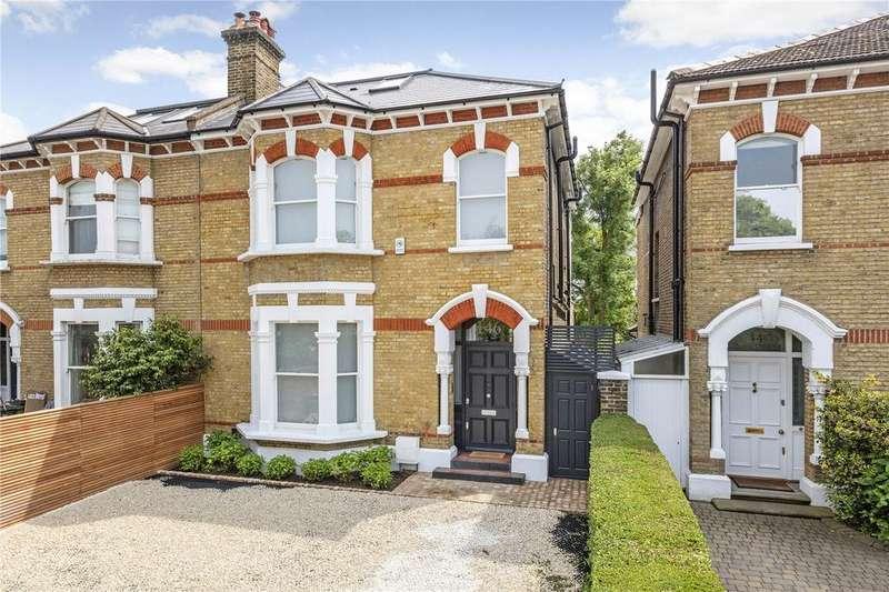 5 Bedrooms Semi Detached House for sale in Castelnau, Barnes, London