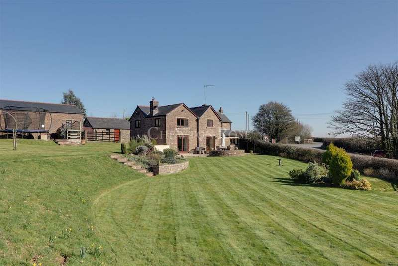 4 Bedrooms Detached House for sale in Devauden, Monmouthshire