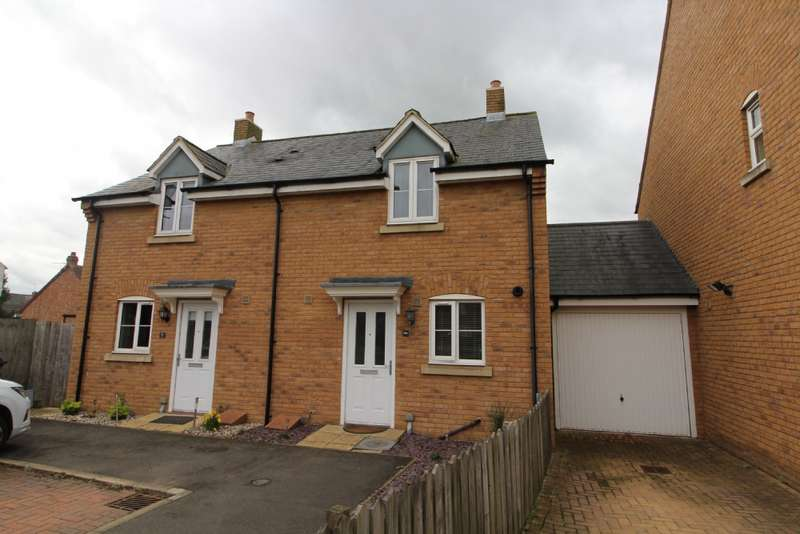 2 Bedrooms Semi Detached House for sale in Flitt Leys Close, Cranfield, Bedfordshire