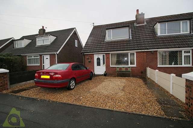 2 Bedrooms Semi Detached House for sale in Blackhorse Avenue, Horwich, Bolton, BL6 5HE
