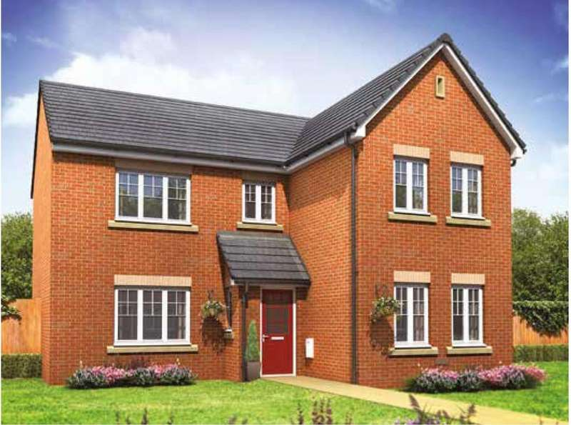 4 Bedrooms Detached House for sale in The Carnaby, Plot 200 Gardinia Rise