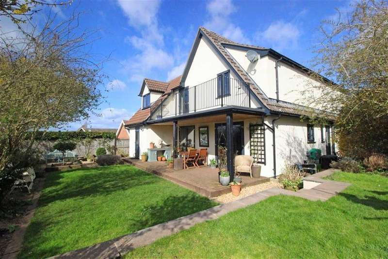 4 Bedrooms Detached House for sale in Duchess Close, Monmouth