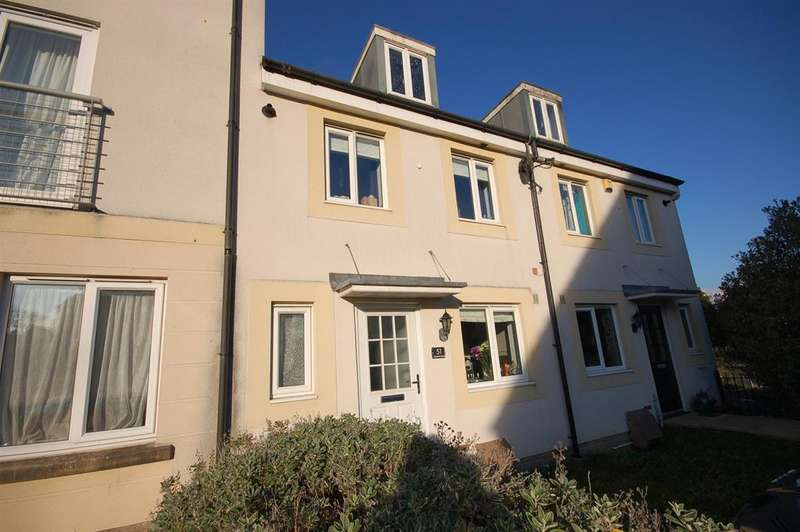 3 Bedrooms Terraced House for sale in Summit Close, Kingswood, Bristol, BS15 9AB