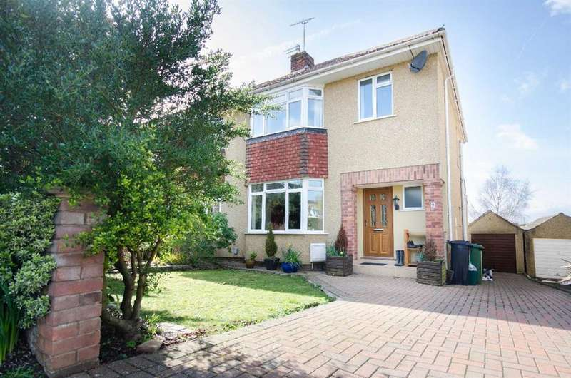 3 Bedrooms Semi Detached House for sale in Queensholm Drive, Downend, Bristol, BS16 6LB