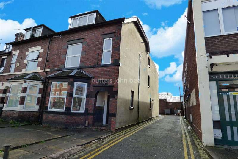 3 Bedrooms End Of Terrace House for sale in Woodhouse Street, Stoke on Trent, ST4 1EH