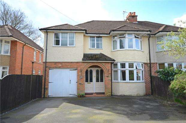 5 Bedrooms Semi Detached House for sale in Yorktown Road, Sandhurst, Berkshire