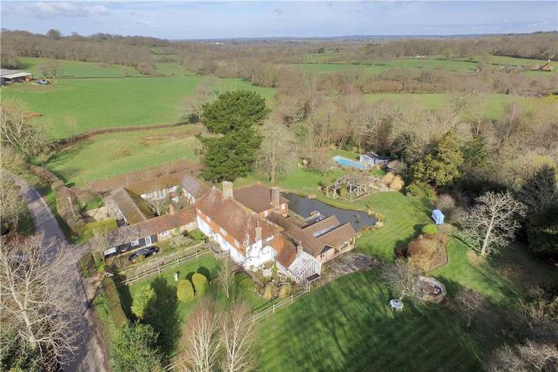 7 Bedrooms Detached House for sale in Gatehouse Lane, Framfield, Uckfield, East Sussex, TN22
