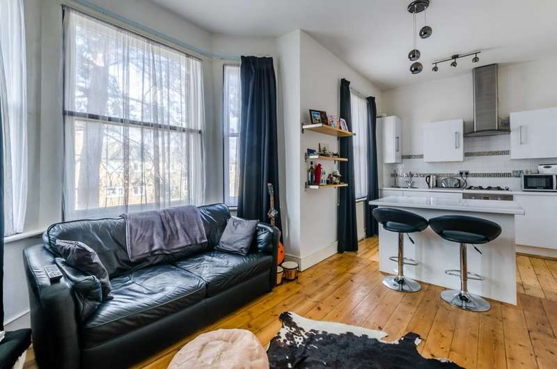 2 Bedrooms Flat for sale in Christchurch Road, Tulse Hill, SW2
