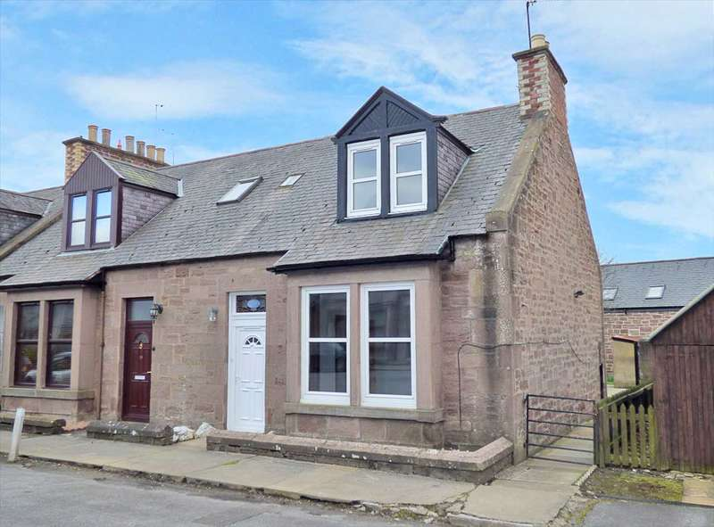3 Bedrooms End Of Terrace House for sale in Victoria Place, Brechin