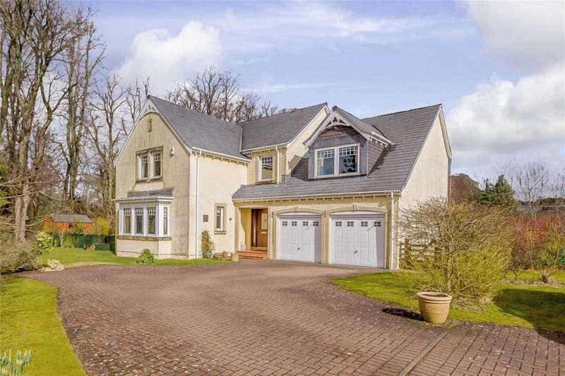 5 Bedrooms Detached House for sale in Cornhill Grove, Biggar, Lanarkshire
