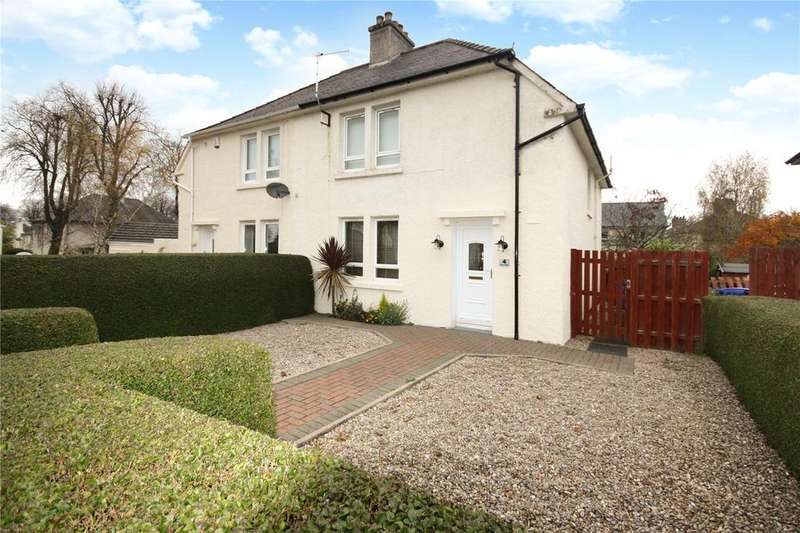 3 Bedrooms Semi Detached House for sale in 4 Climie Place, Kilmarnock, East Ayrshire, KA3