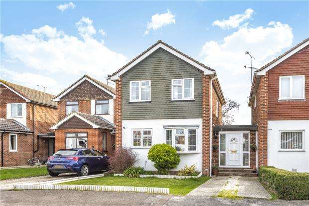 3 Bedrooms Link Detached House for sale in Kendall Avenue, Shinfield, Reading
