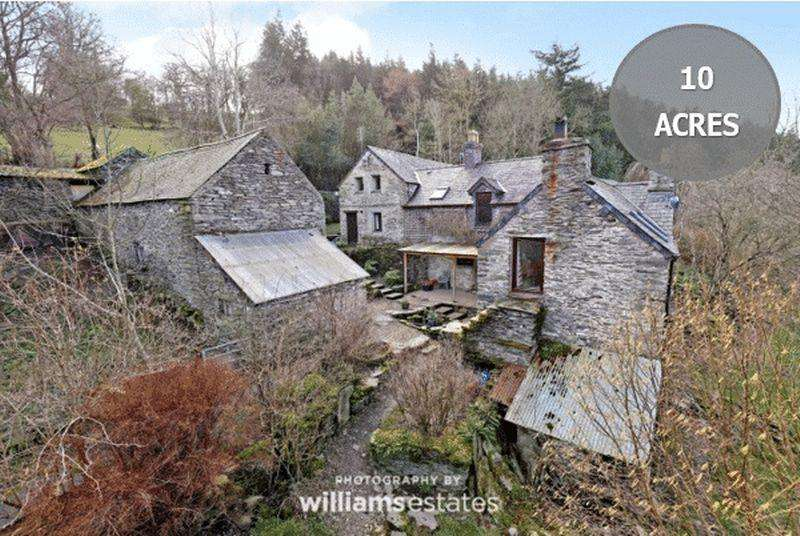 5 Bedrooms Cottage House for sale in Cynwyd, Corwen