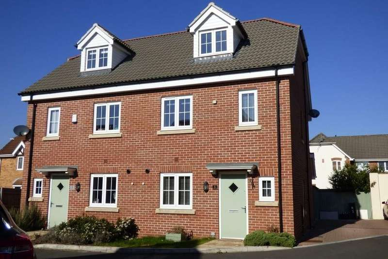 3 Bedrooms Semi Detached House for sale in Newbury Chase, Downend