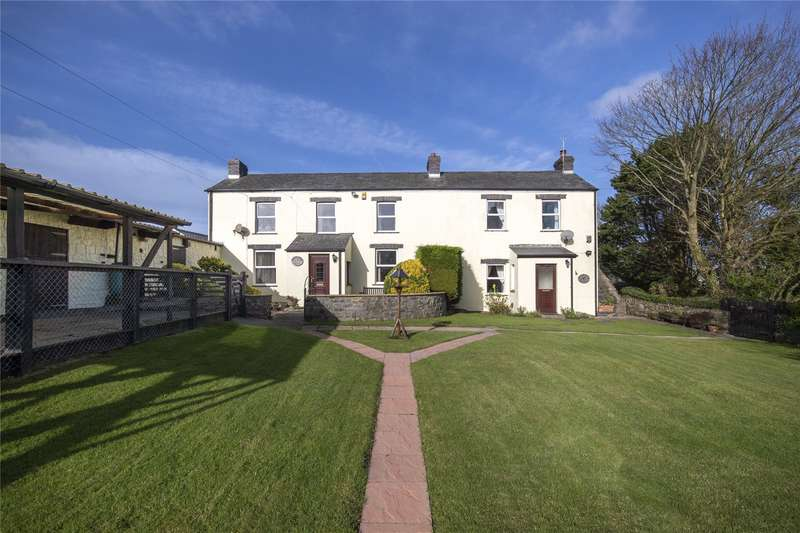 4 Bedrooms Farm House Character Property for sale in Green Farm, Green Lane, Waterston, Milford Haven