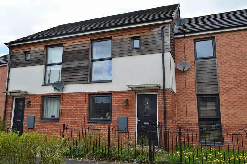 2 Bedrooms Town House for sale in Dunster Close, Chadderton, Oldham, OL9 8BS