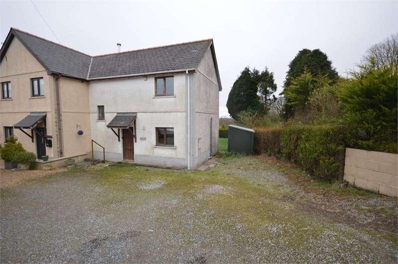 2 Bedrooms Semi Detached House for sale in Pen Y Goeden, Blaenffos, Boncath, Pembrokeshire