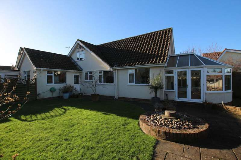 4 Bedrooms Detached House for sale in Tardis, deceptively spacious chalet bungalow in quiet village location.