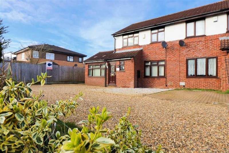 3 Bedrooms Semi Detached House for sale in Hepleswell, Two Mile Ash, Milton Keynes, Bucks