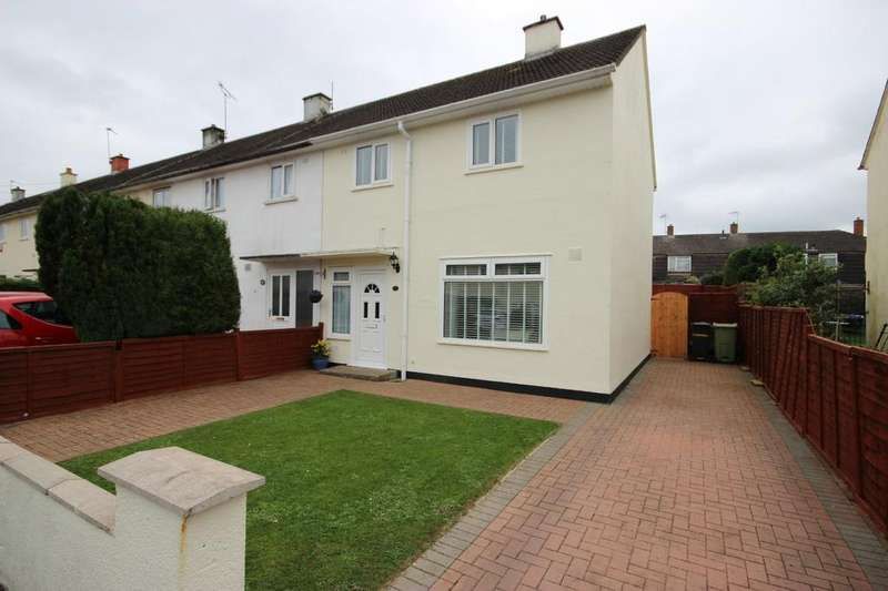3 Bedrooms End Of Terrace House for sale in Turnbridge Road, Brentry, Bristol, BS10