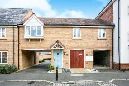 2 Bedrooms Terraced House for sale in Hawking Drive, Biggleswade, Bedfordshire, .
