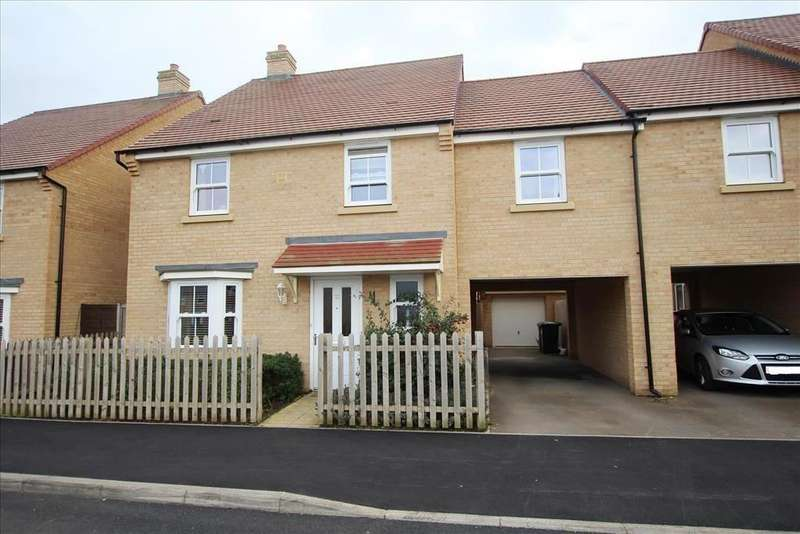 4 Bedrooms House for sale in Rutherford Way, Biggleswade, SG18
