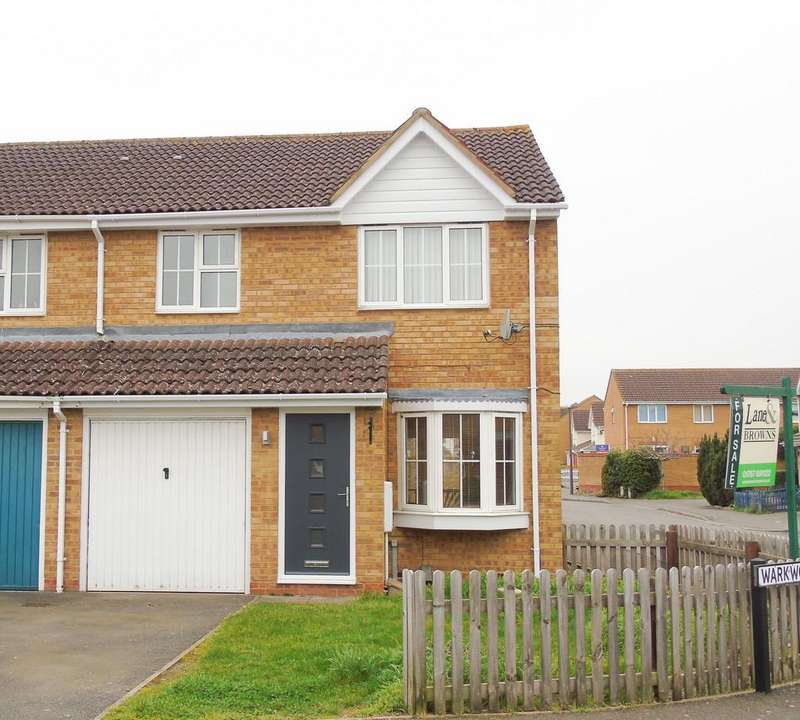 3 Bedrooms End Of Terrace House for sale in Warkworth Close, Sandy