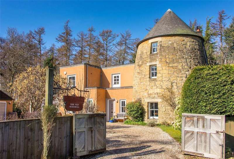 4 Bedrooms Detached House for sale in The Old Windmill, Edgehead Village, Midlothian