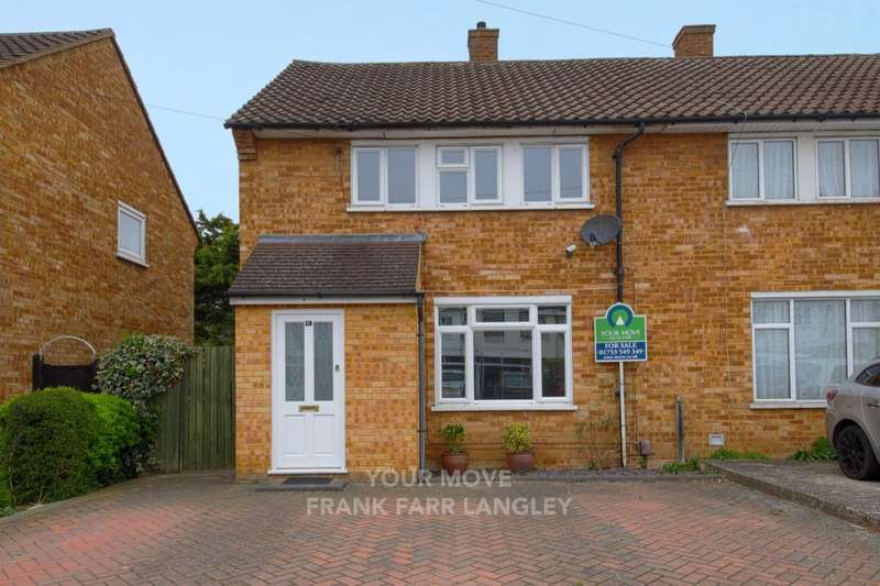 3 Bedrooms Semi Detached House for sale in Verney Road, Langley, Slough, SL3