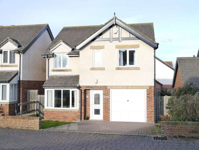 4 Bedrooms Detached House for sale in Kings Field, Seahouses, Northumberland