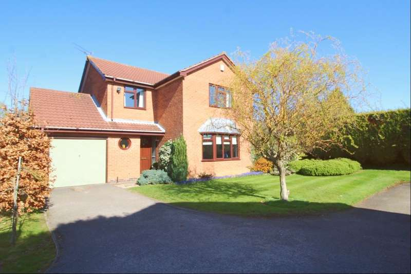 4 Bedrooms Detached House for sale in Jarvis Close, Hinckley, LE10