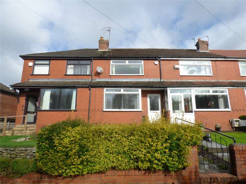 2 Bedrooms Terraced House for sale in Prestbury Drive, Boundary Park, Oldham, Greater Manchester, OL1