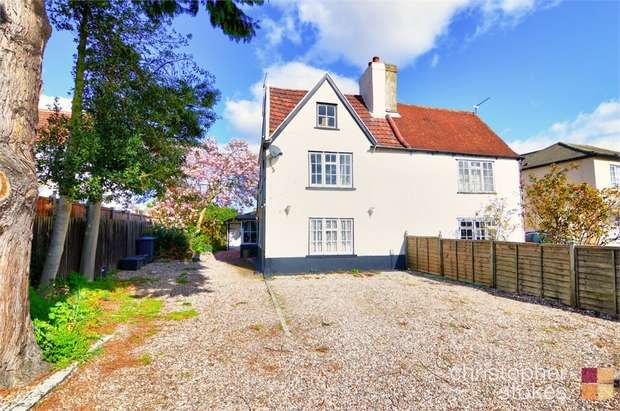 3 Bedrooms Semi Detached House for sale in Windmill Lane, Cheshunt, Cheshunt, Hertfordshire