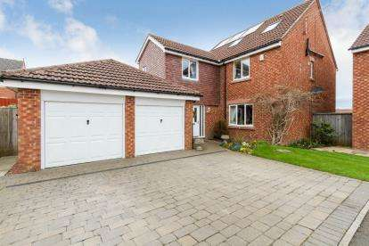5 Bedrooms Detached House for sale in Heather Lea Lane, Prudhoe, Newcastle, Northumberland, NE42