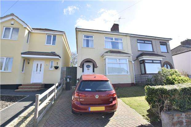 3 Bedrooms Semi Detached House for sale in Gillard Road, St. George, BS15 8AR