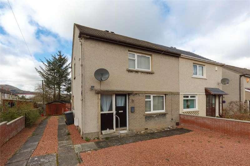 2 Bedrooms Semi Detached House for sale in 29 Dalum Loan, Loanhead, Midlothian, EH20