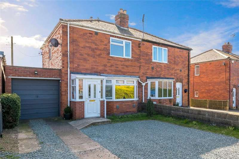 3 Bedrooms Semi Detached House for sale in College Road, Cranwell Village, Sleaford, Lincolnshire, NG34