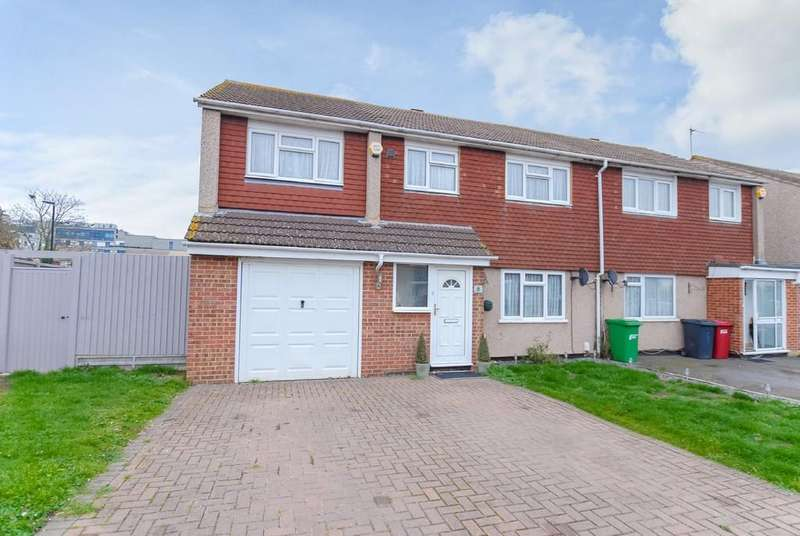 4 Bedrooms Semi Detached House for sale in Layburn Crescent