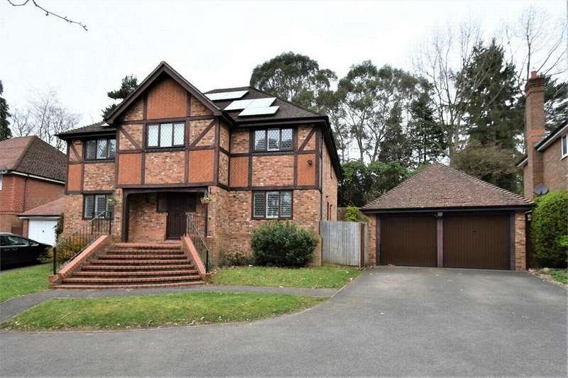 5 Bedrooms Detached House for sale in Goldney Road, CAMBERLEY, Surrey