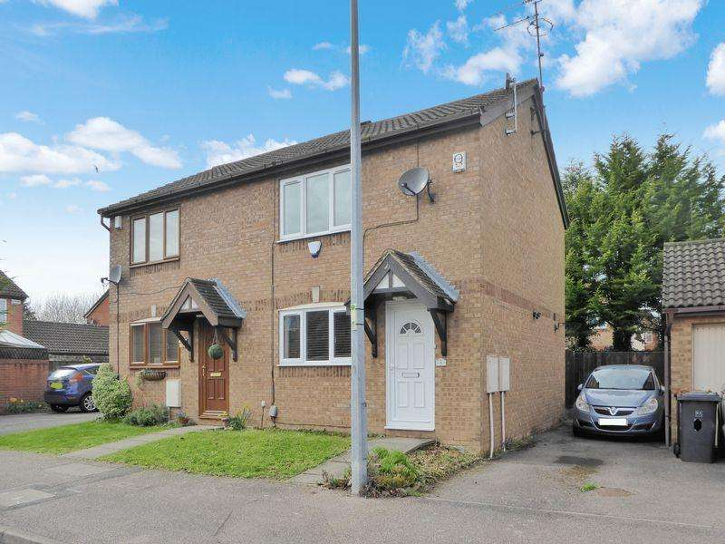 2 Bedrooms Semi Detached House for sale in Tudor Drive, Dunstable