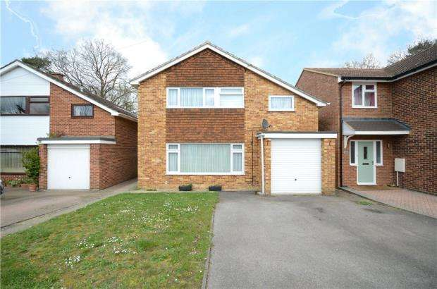 5 Bedrooms Detached House for sale in Mickle Hill, Little Sandhurst, Sandhurst
