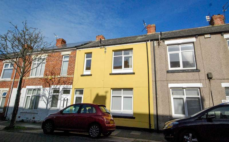 3 Bedrooms Terraced House for sale in Charles Street, Boldon Colliery
