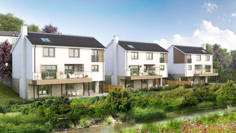 4 Bedrooms Detached House for sale in Riverbank Gardens, Field Road, Busby, Glasgow, G76 8RX