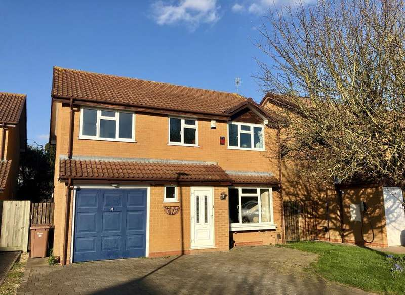 4 Bedrooms Detached House for sale in Porter Close, Lower Earley, RG6