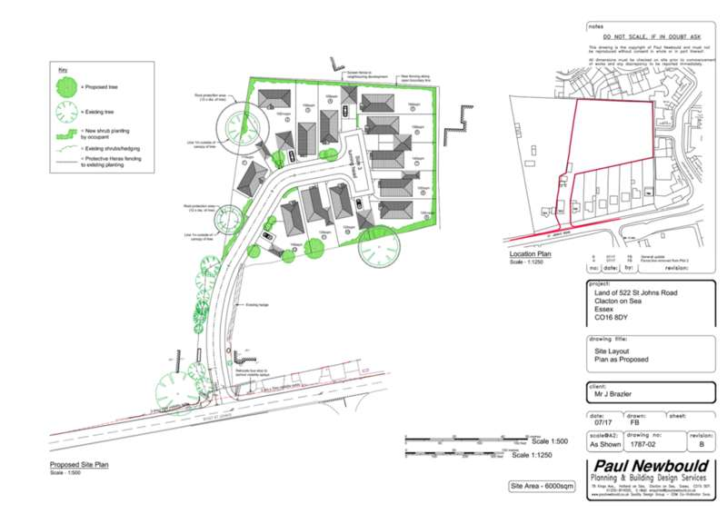 Land Commercial for sale in St Johns Road, Clacton-on-Sea, CO16