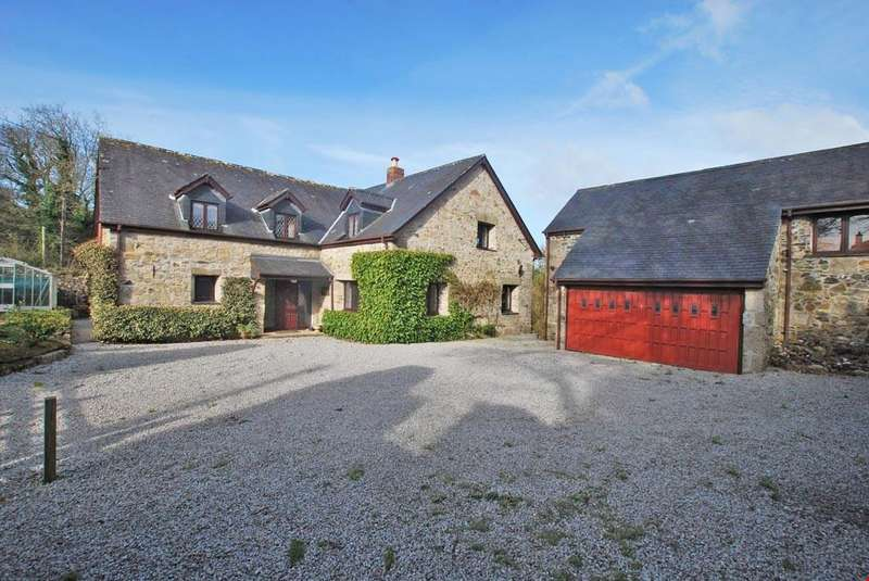 5 Bedrooms Detached House for sale in Reskadinnick, Cornwall