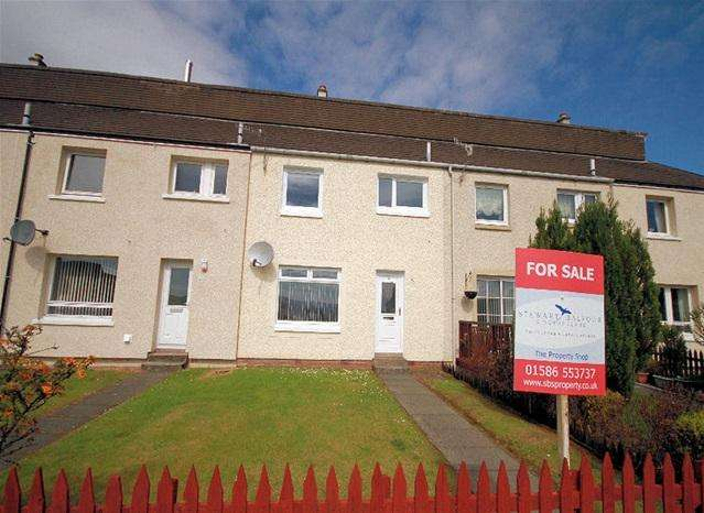 3 Bedrooms Terraced House for sale in Knapdale Terrace, Ardrishaig