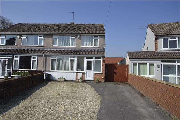 3 Bedrooms Semi Detached House for sale in Bradley Avenue, Winterbourne, BS36 1HW